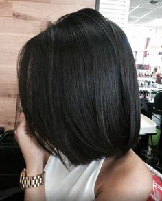 (notitle) - Medium length hair styles - Banho e Cuidado Corporal Haircuts For Long Hair, Short Bob Hairstyles, Short Hair Cuts, Medium Hair Styles, Short Hair Styles, Hair Color Streaks, Great Hair, Hair Dos, Hair Trends