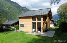 Looking to build a beautiful chalet? We have built one chalet in Chamonix at Mont Blanc mountain. Pallet House Plans, House Floor Plans, Chalet Style, Traditional Landscape, Wooden House, Modern Materials, Gazebo, Outdoor Structures, House Styles