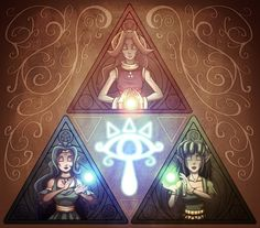 Triforce of the Goddesses