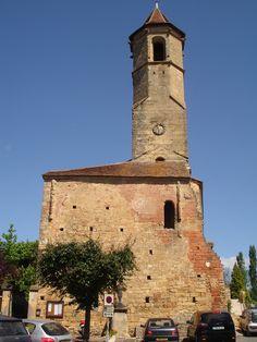 Middeleeuwse toren in Belves
