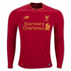£22.99 Liverpool Home Long Sleeve Shirt 2016 2017