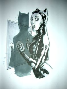 Catwoman by Jose Johann Jaro