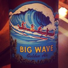 Cerveza hawaiiana. North Shore de Oahu, Hawaii