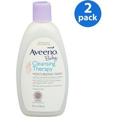 Aveeno Baby - Cleansing Therapy Moisturizing Wash, 8 oz., 2-pack, Multicolor