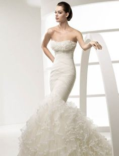 Beautiful Mermaid Wedding Dresses More Dramatic Bridal Gowns Top Of Modern Fashion Trend