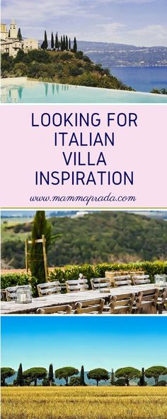Are you looking for Italian Holiday Inspiration? If so have a read of this wonderful Interview with Luxury Villa rental specialists Bookings For You. They rent beautiful villas in Italy and France. Go take a look. Italian Villas For Rent, Italy Holidays, Villa Holidays, British Travel, Cities In Italy, Italian Lakes, Villas In Italy, Luxury Villa Rentals, Italian Beauty
