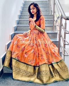 Order contact my whatsapp number 7874133176 Party Wear Indian Dresses, Indian Gowns Dresses, Indian Fashion Dresses, Dress Indian Style, Indian Designer Outfits, Designer Dresses, Designer Anarkali Dresses, Indian Wear, Indian Outfits