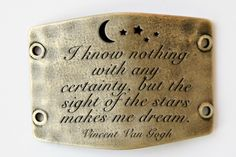 the sight of the stars...