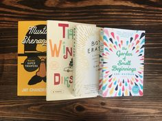 Enter our April Beaks and Geeks box sweeps for a chance to win these reads and more!