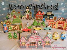 Christmas Village Cookies