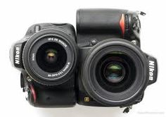 Two Nikon D5100s Side by Side