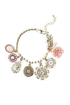 Vintage Cluster Bracelet $23.00