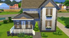 "Houses and Lots: House ""Kelly"" from Totally Sims • Sims 4 Downloads"