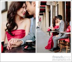 Pre-wedding Session: Paris, France. Katie + Li | frenchgreyphotography.com