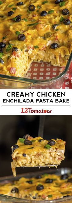 Chicken Enchilada Spaghetti Used regular tomatoes, could us spicier chilis. Chicken Enchilada Pasta, Creamy Chicken Enchiladas, Chicken Spaghetti, Mexican Food Recipes, Great Recipes, Favorite Recipes, Mexican Dishes, Fall Recipes, Yummy Recipes