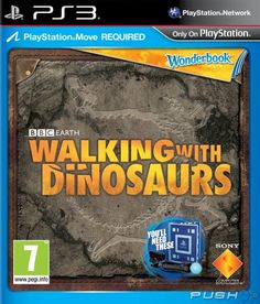 Wonderbook: Walking with Dinosaurs - Game Review - Fun, augmented-reality edutainment filled with cool facts.
