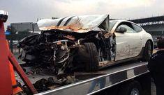 White Ferrari FF Crashes in Mexico | automotive99.com