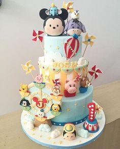 Disney Tsum Tsum Cak