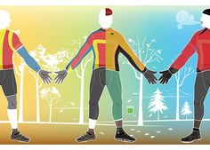 A Cyclist's Guide to Dressing for Fall Rides  http://www.bicycling.com/bikes-and-gear-features/apparel/cyclists-guide-dressing-fall-rides
