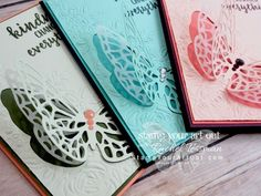 Click here for more information & to watch my quick video to see how to double the value of your dies with the Big Shot Embossing Mats AND how to make pretty butterfly cards using new products from the Garden Impressions Suite that will debut on June 1st in the 2018-19 Catalog: Abstract Impressions stamp set & Springtime Impressions Thinlits dies…#stampyourartout #stampinup - Stampin' Up!®️️️️ - Stamp Your Art Out! www.stampyourartout.com