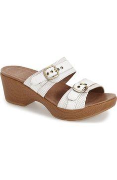 Dansko 'Jessie' Double Strap Sandal (Women) available at #Nordstrom