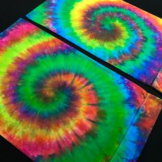 Set of Standard Size Neon Rainbow Spiral Tie Dye Pillowcases – Detroit Tie Dye Co. Tie Dye Bedding, Linen Bedding, Bed Linens, Neon Rainbow, Rainbow Colors, Dinosaur Toddler Bedding, Spiral Tie Dye, Tie Dye Outfits, Spiral Pattern