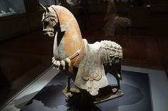 https://flic.kr/p/hhb8qv | 2013 - 07 - 07 - Horse Northern & Southern Dynasty 420-589 AD (CE) | The years 420-589 AD were a time of civil war and chaos in China -- a time when the formerly unified country fragmented into many kingdoms.  This did not last, so for convenience modern historians blur the distinctions by referring to this as the era of the Northern and Southern Dynasty.    Despite the military and political dislocations, this era was one of military technological advances and…