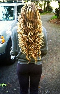 Pretty my hair is already so curly but this will just exaggerate them more - love!