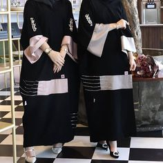 Abaya Fashion, Muslim Fashion, Abaya Designs Dubai, Stylish Hijab, Mode Abaya, Iranian Women Fashion, Hijab Fashionista, Hijab Style, Hijab Fashion Inspiration