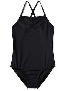 Cross-Back Swimsuit for Girls | Old Navy