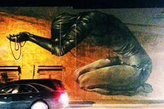 Faith47 mural, Wynwood, Miami Art Basel 2013