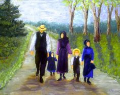 Becoming Amish by Gloria Adrian