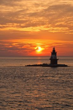 Orient Point sunset, Long Island, New York