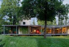 Szklany dom Jodłowa niedaleko Krakowa (PCKO x MOFO Architects)-3
