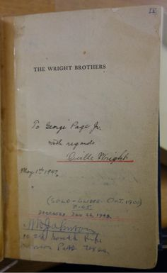 The-Wright-Brothers Wright Brothers, Air And Space Museum, Book Signing, New Books