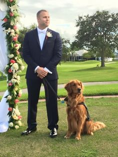 When a man gets married, it's only right that his best man is his very best friend. But in the case of Justin Lansford–a wounded veteran, his service dog is his best friend. So during their wedding day, his service …