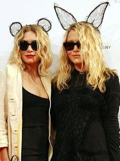 オルセン姉妹もヘッドドレス