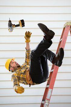 Portable Ladder - Fall Safety Toolbox Talks, Portable Ladder, Tool Box, Skateboard, Fall, Skateboarding, Autumn, Toolbox, Fall Season