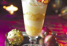 Vianočný jablčný pohár pre malých aj veľkých Pudding, Food, Custard Pudding, Essen, Puddings, Meals, Yemek, Avocado Pudding, Eten