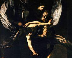 Madonna col Bambino attorniata da due angeli - Caravaggio