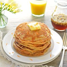 Look beautiful and delicious! I defiantly will make these pancakes for the next weekends. Thanks for sharing!