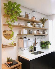 Kitchen Room Design, Kitchen Cabinet Design, Kitchen Sets, Home Decor Kitchen, Rustic Kitchen, Interior Design Kitchen, New Kitchen, Home Kitchens, Aesthetic Room Decor