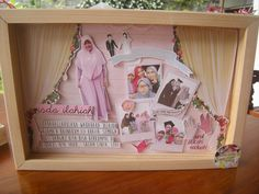 wedding pop up scrapframe