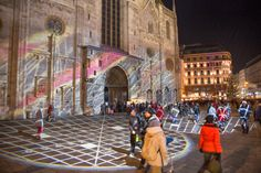 Video: Christmastime scenes from Vienna