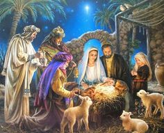 Christmas in Bethlehem. The ancient dream: a cold, clear night made brilliant by a glorious star, the smell of incense, shepherds and wise men falling to their knees in adoration of the sweet baby, the incarnation of perfect love.  ~ Lucinda Franks ~