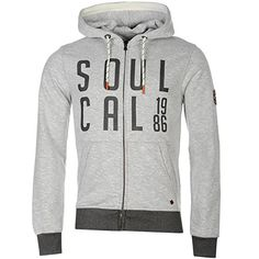Soul Cal SoulCal Mens Text Hoodie Brushed Full Zip Long Sleeve Hooded Casual Top Grey Grindle M No description (Barcode EAN = 5057175095817). http://www.comparestoreprices.co.uk/december-2016-4/soul-cal-soulcal-mens-text-hoodie-brushed-full-zip-long-sleeve-hooded-casual-top-grey-grindle-m.asp