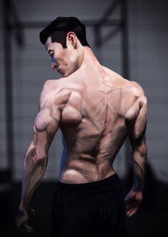 Muscles Digital Painting by sambitsingh.deviantart.com on @DeviantArt