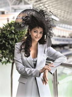 Bollywood actress Aishwarya Rai at Royal Ascot