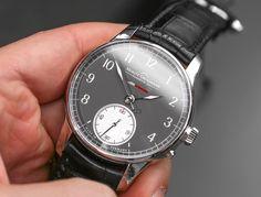 Moritz Grossmann Benu Power Reserve Watch Hands-On