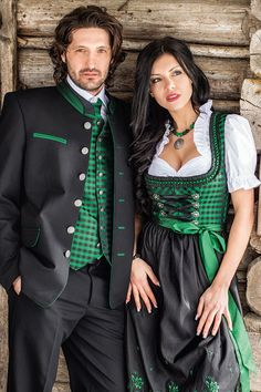 Oktoberfest Outfit, Dirndl Dress, Folk Costume, Couple Outfits, German Women, Traditional Dresses, Style Guides, Vintage Dresses, Fashion Outfits